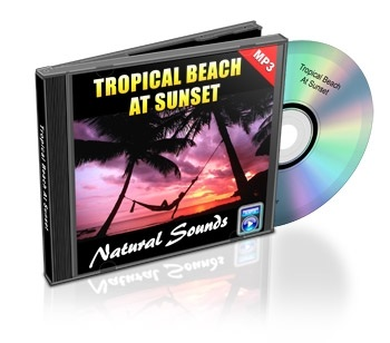 Natural Sounds, Volume 7: Tropical Beach At Sunset